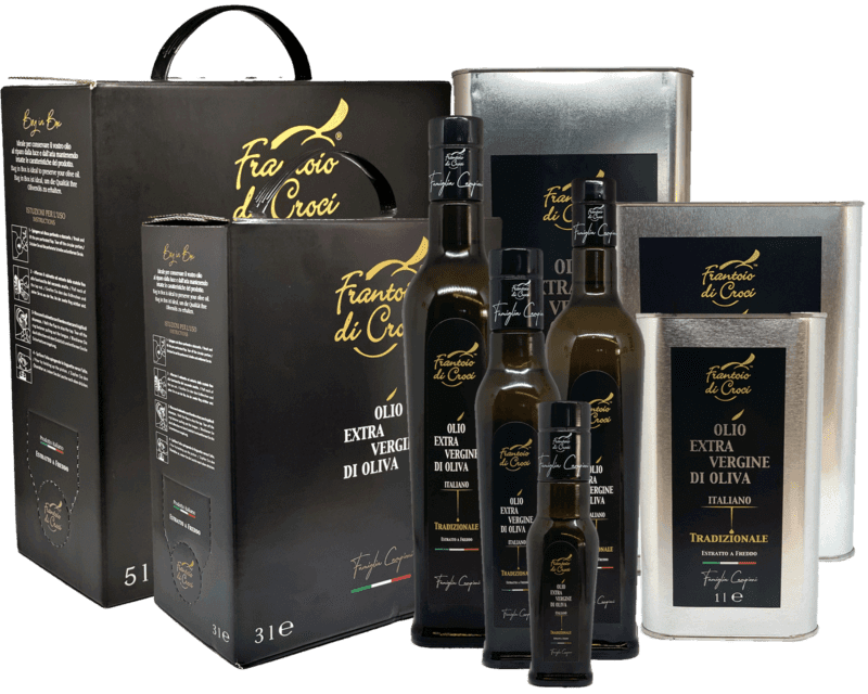 Extra Virgin Olive Oil made in Tuscany
