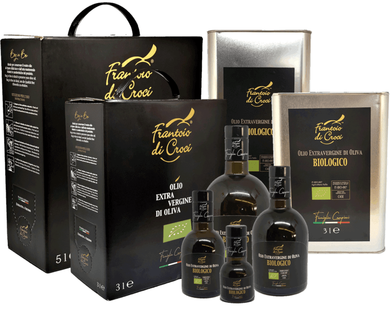 Organic Extra Virgin Olive Oil made in Tuscany