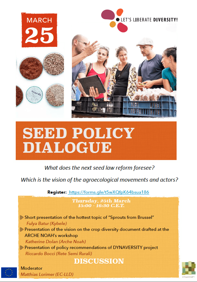 Seed Policy Dialogue