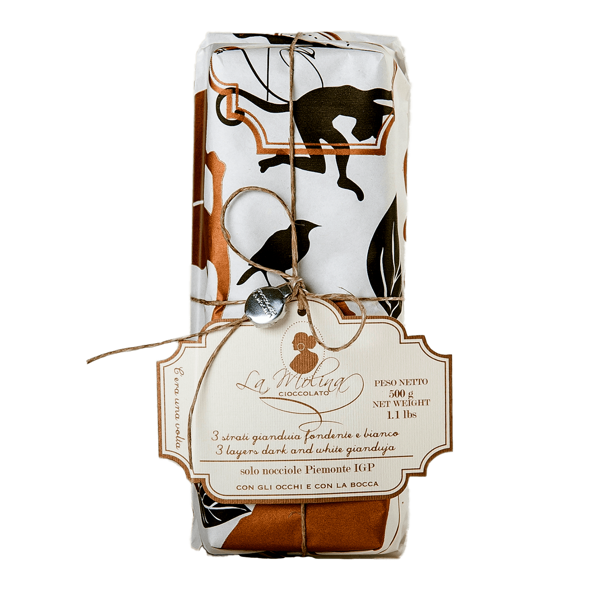 ONCE UPON A TIME dark and white gianduja