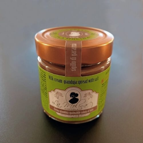 Crema spalmabile gianduia salata