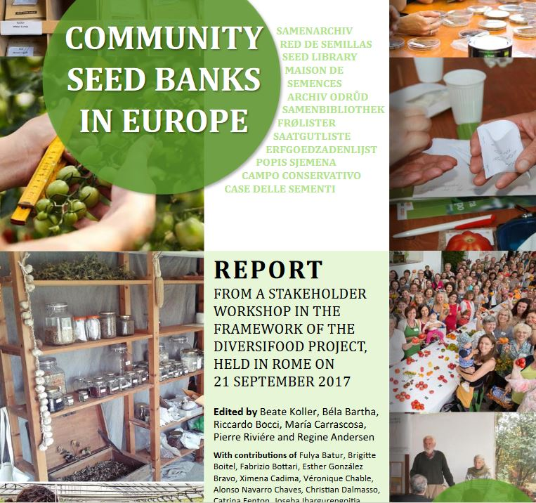 Community Seed Banks in Europe –  il report è online (eng)
